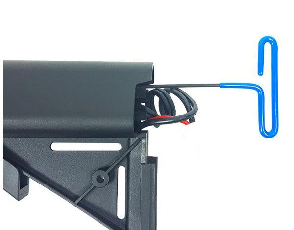 KWA KWA VM4 X-15 electric rifle, black