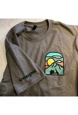 Vespa Portland - Sunset Mountain Full Color T-Shirt