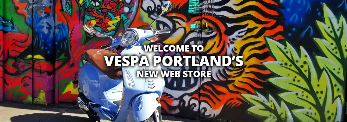 Welcome to Vespa Portland's New Web Store