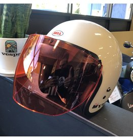 HFS ARMOR CLAD Flip-Up Helmet Shield - HI-VIS ORANGE
