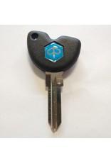 Piaggio Key Blank w/chip Piaggio Liberty/BV/X9