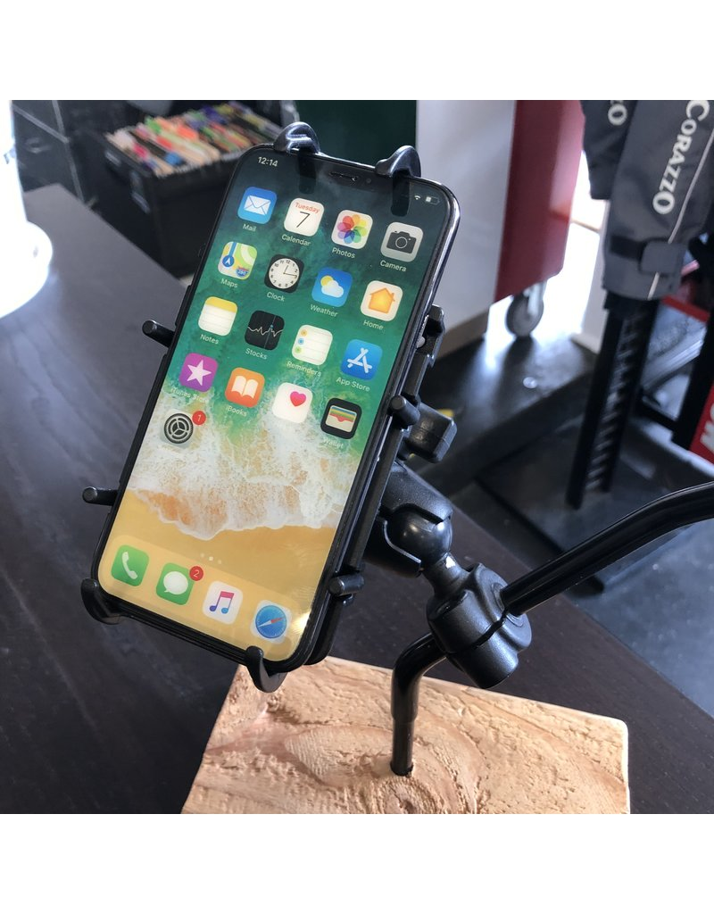 RAM Mounts RAM Mount Phone Holder Set with Spring Loaded Cradle