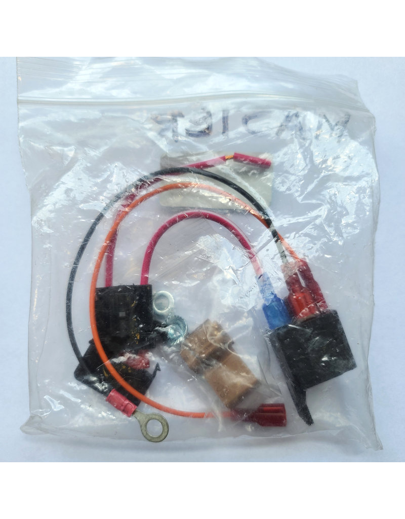 Vespa Horn wiring kit for Seger 136db horn (MEDIUM Loud Horn)