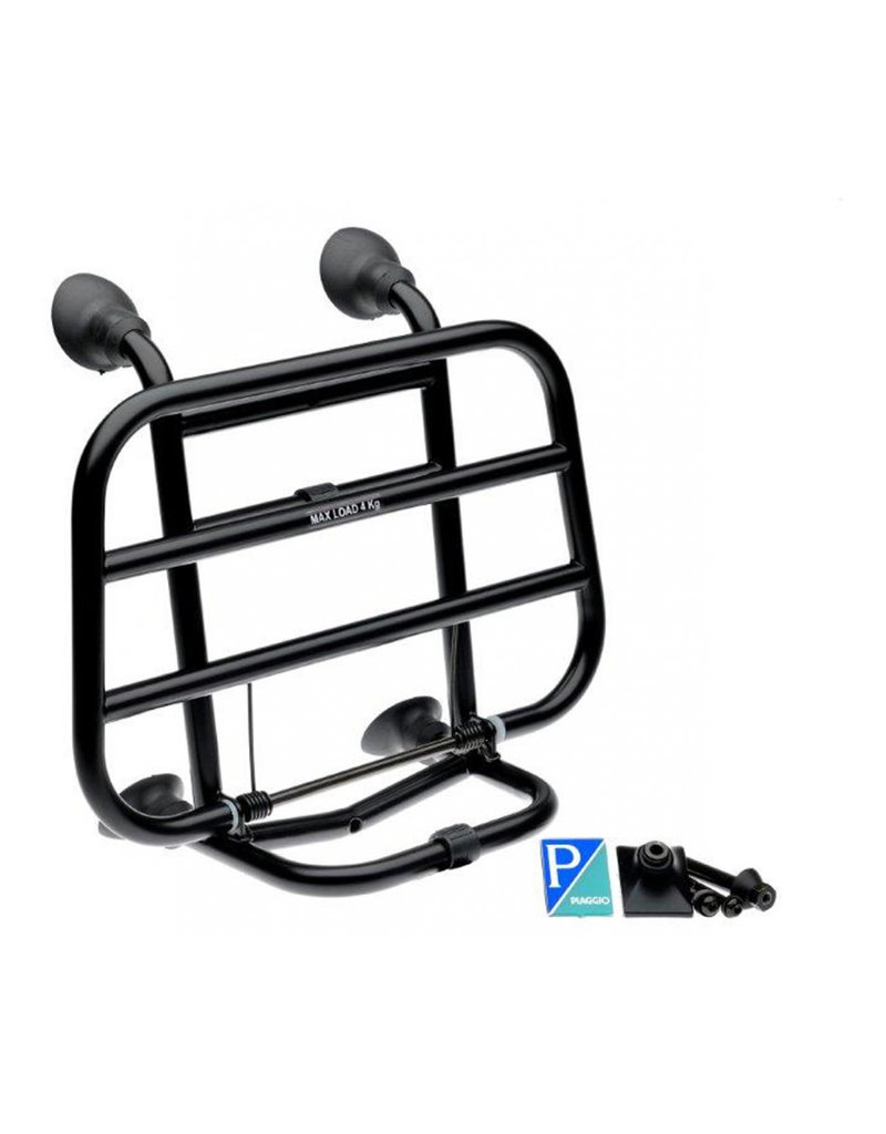 Vespa FRONT FOLDING RACK PRIMAVERA/SPRINT BLACK