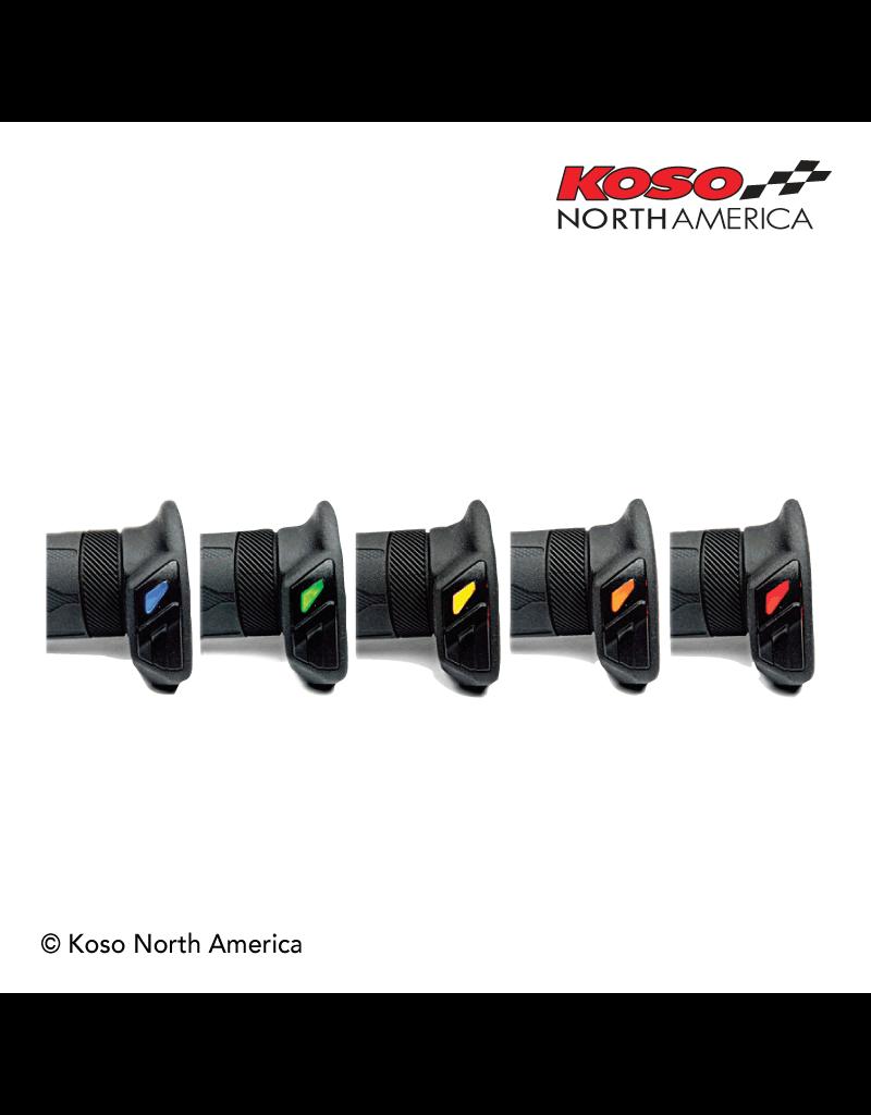 Koso Koso Apollo Heated Grips - 1 inch