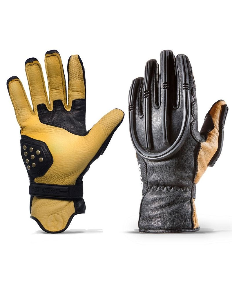 Velomacchi Velomacchi – Speedway Gloves BLACK/TAN