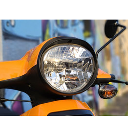 Genuine Black Headlight Bezel - Genuine Buddy 2007+