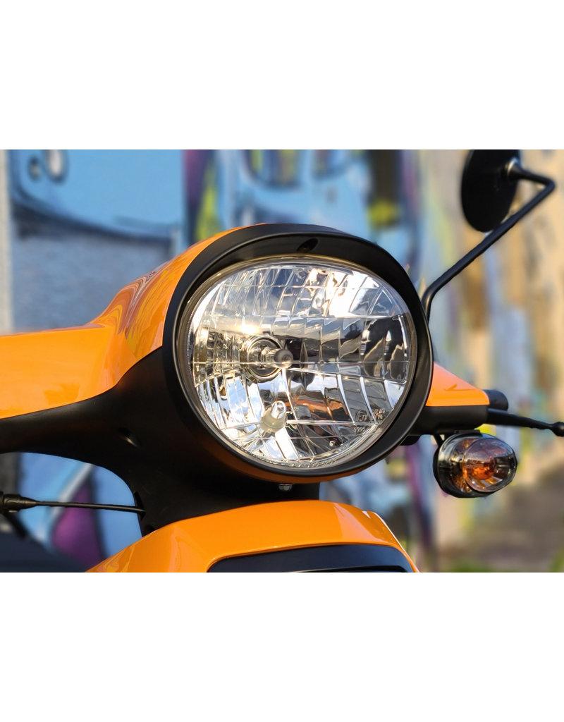 Genuine Black Headlight Bezel - Genuine Buddy 2007+