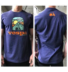 Vespa Portland Vespa Portland Shirt (Blue/Rust)