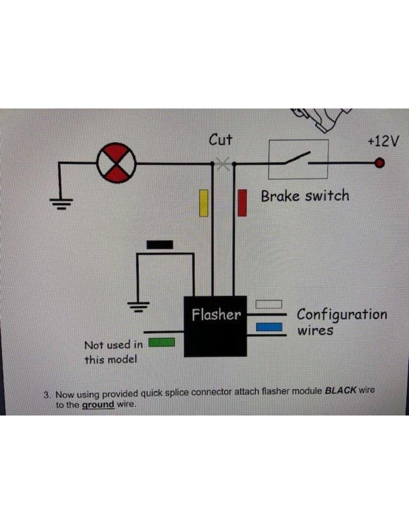 Brake Light Flasher / Modulator