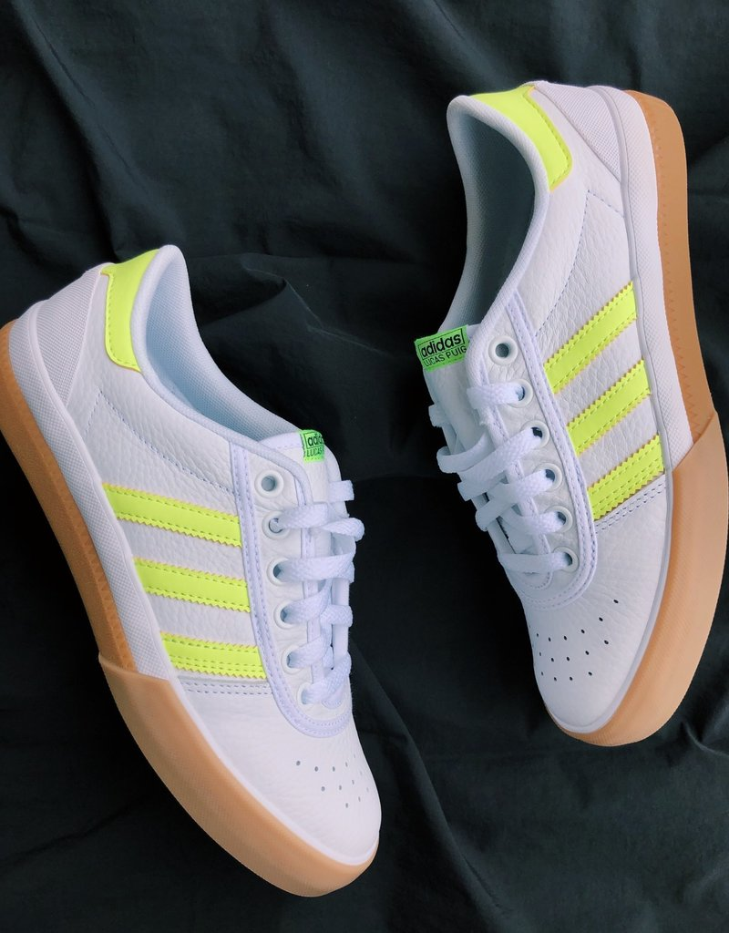adidas Lucas Premiere highlighter/white
