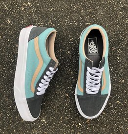 Vans Old Skool (Textured Suede) Pewter/Aqua Haze