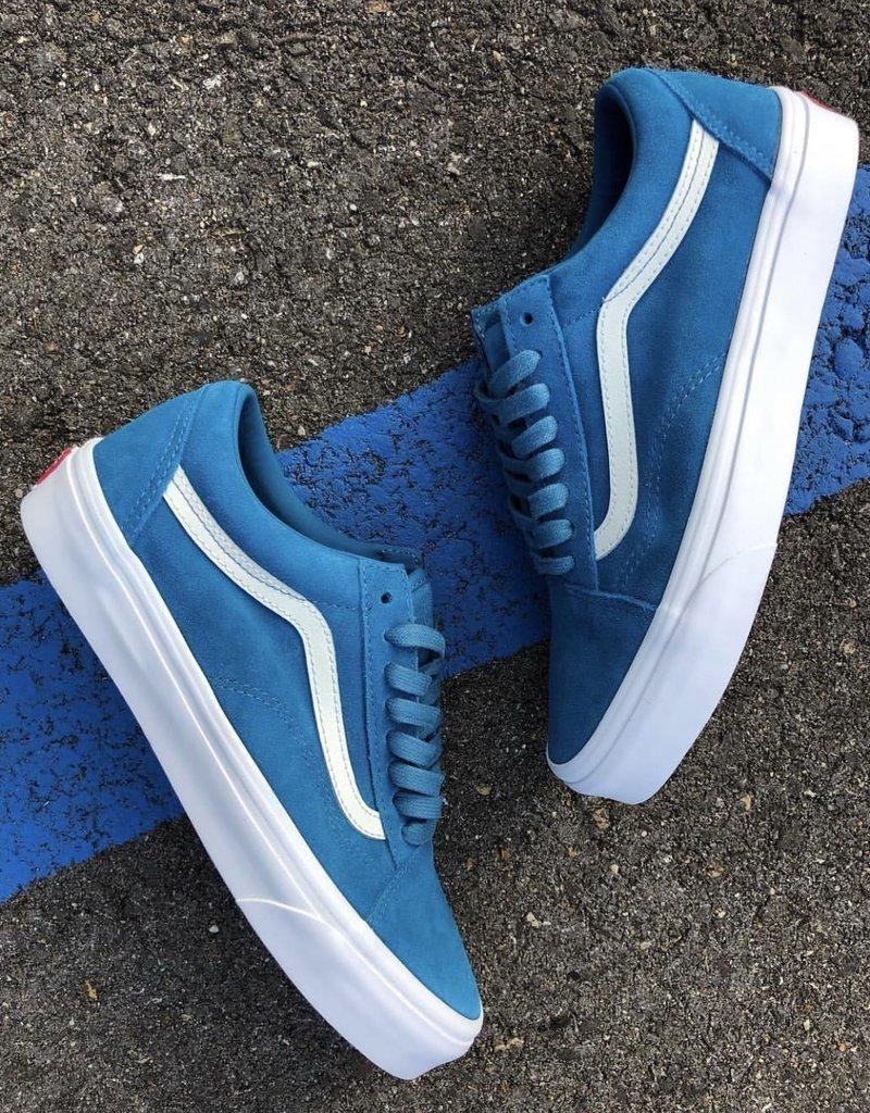 Vans Old Skool (Soft Suede) Blue Sapphire