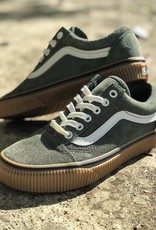 Vans Old Skool (Suede) Dusty Olive/ Embossed