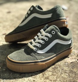 Vans Old Skool (Suede) Dusty Olive/ Embossed
