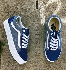 Vans Old Skool (Chambray) Canvas True Navy