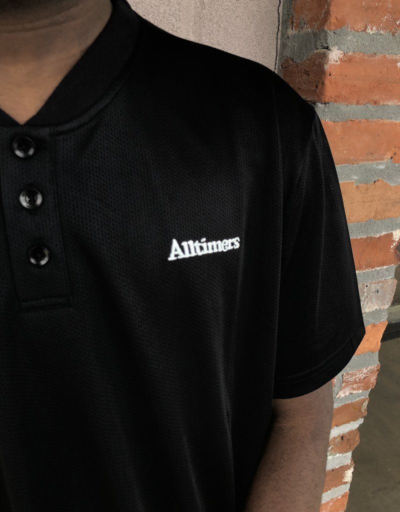 Alltimers Black Foreign Mesh Top