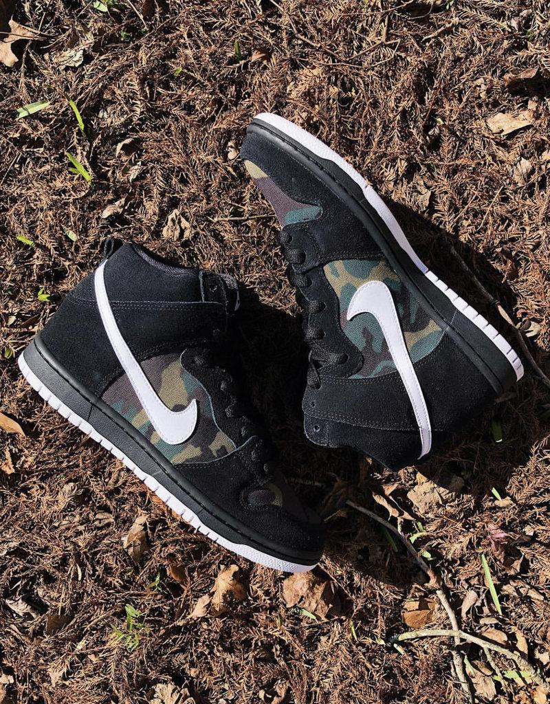 Nike Dunk High Camo