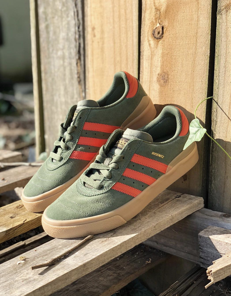 adidas Busenitz Vulc olive/orange