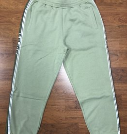 Polar Striped Sweat Pant Green