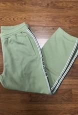 Polar Striped Sweat Pant Green