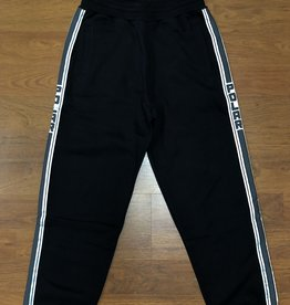 Polar Striped Sweat Pant Black