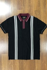 Butter Goods Newark Zip Polo Black