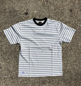 Butter Goods Hampshire Stripe Tee Stone Blue