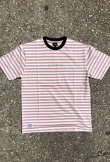 Butter Goods Hampshire Stripe Tee Coral