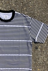 Polar Stripe Logo Tee Black