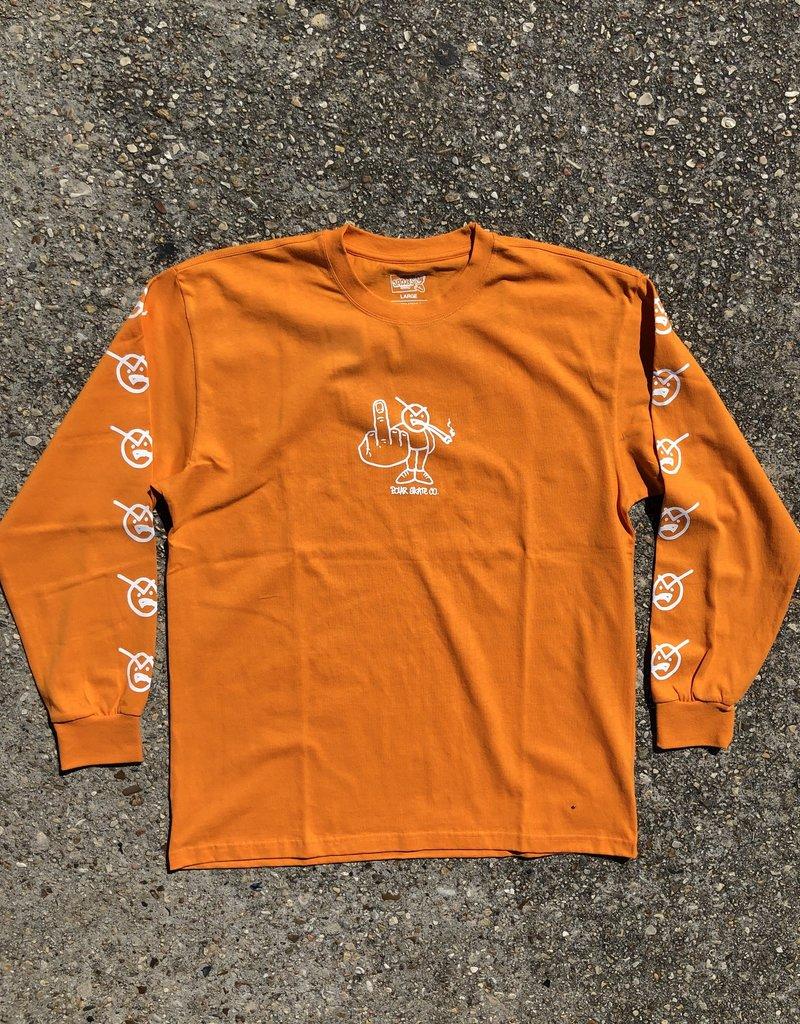 Polar Angry Stoner Longsleeve Bright Orange