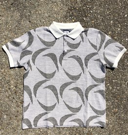 Polar Patterned Polo Shirt Ivory/Black