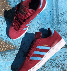 adidas Busentiz Burgundy/ Light Blue