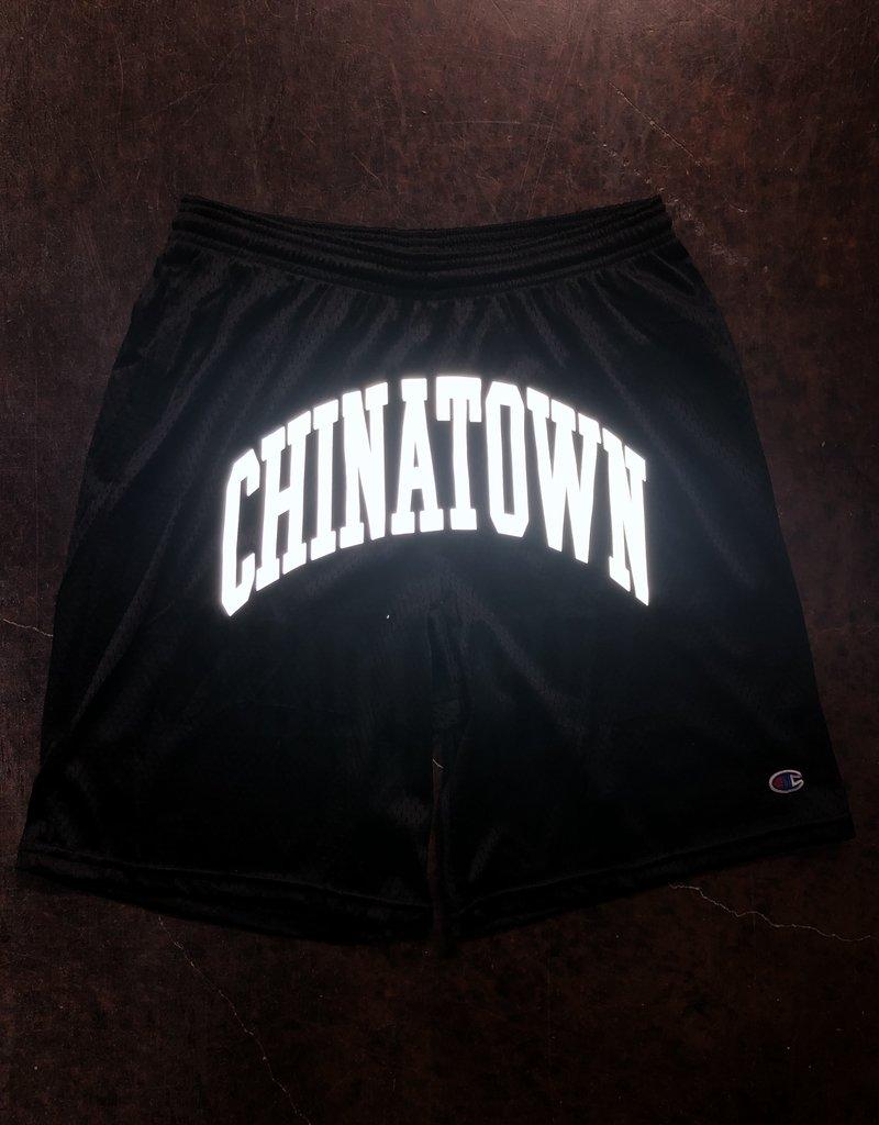 Chinatown Market Shooter Mesh Shorts Black 3M