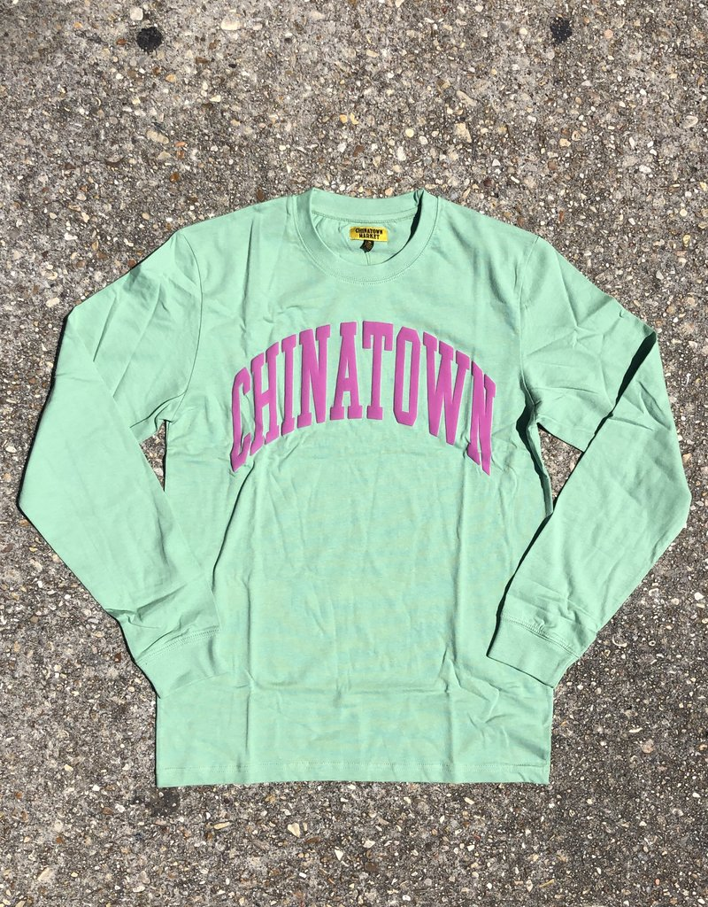 Chinatown Market Arc L/S Green