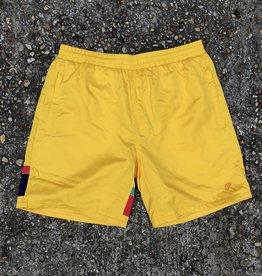 Helas Mosaic Shorts Yellow