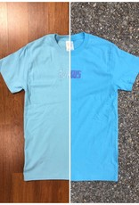 "Rukus ""UV Wave"" Tee Sky Blue"