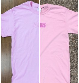"Rukus ""UV Wave"" Tee Light Pink"