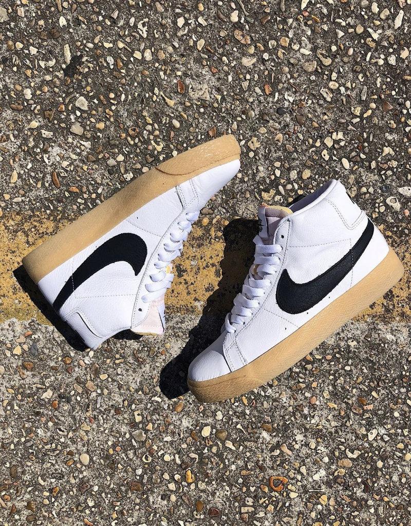 Nike SB Orange Label Blazer white/black/gum