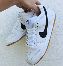 Nike SB Orange Label Dunk Low white/black/gum