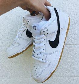 Nike SB Orange Label Dunk Low white/black/gum