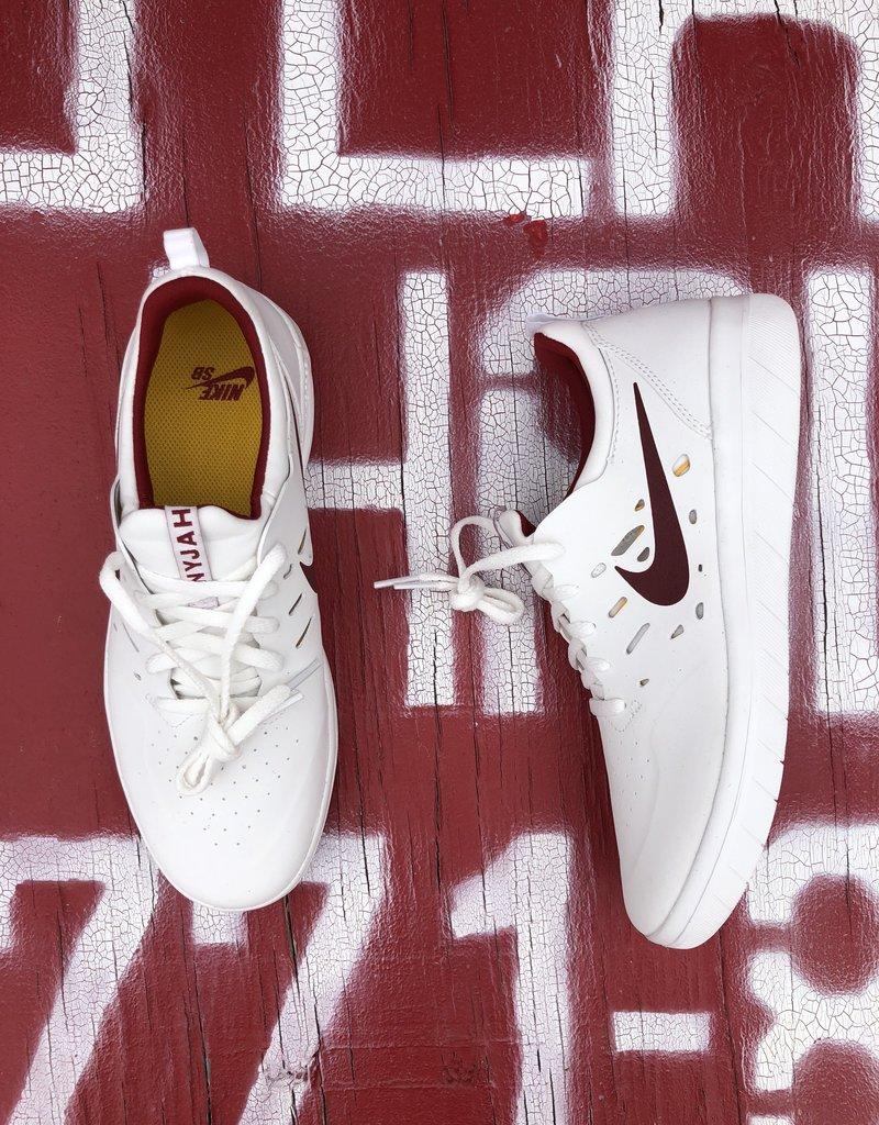 Nike SB Nyjah white/team red