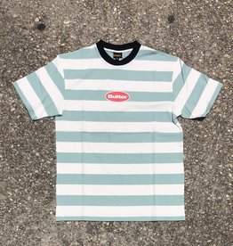 Butter Goods Badges Stripe Tee Ice