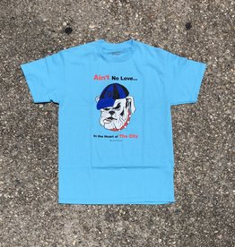 Butter Goods Aint No Love Tee Pacific Blue