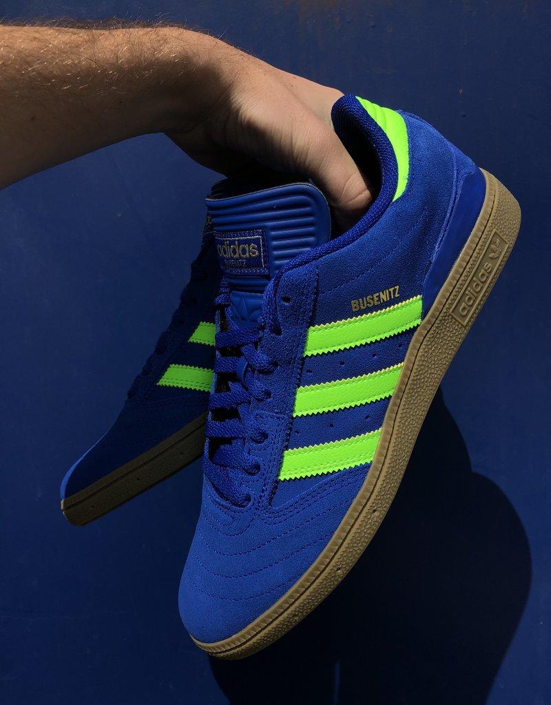 adidas Busenitz Royal Blue/Bright Green