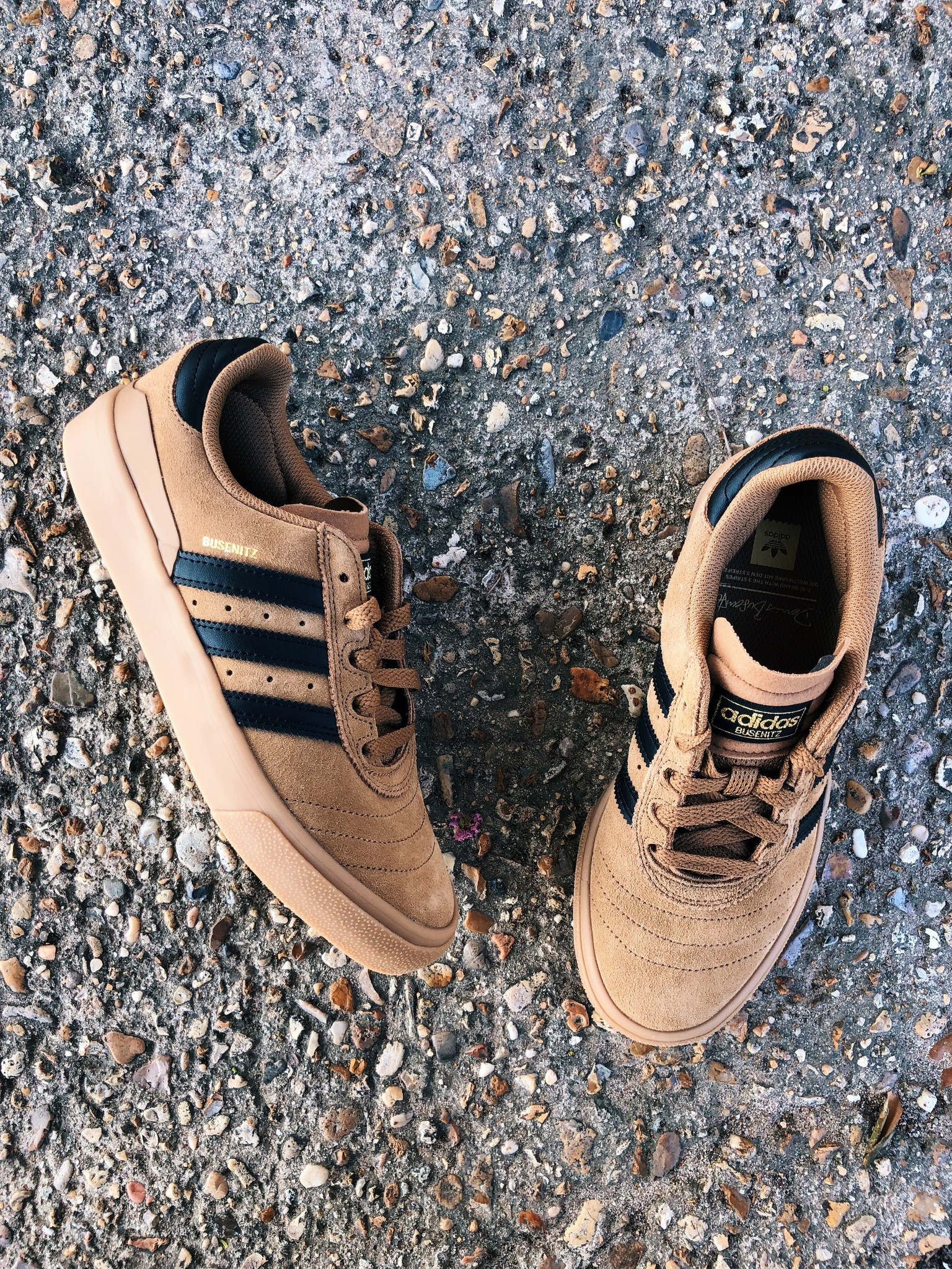 adidas Busenitz Vulc Tan and Gum