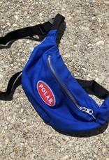 Polar Station Logo Hip Bag blue