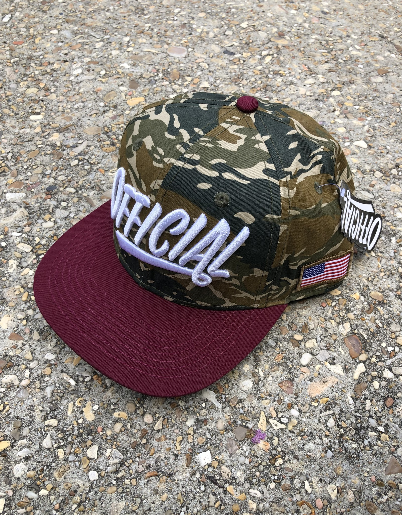 Official Camo never die snapback