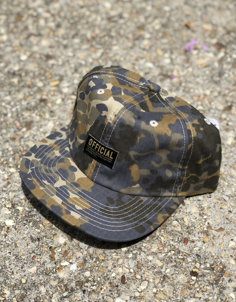 Official Issue Camo 6 panel