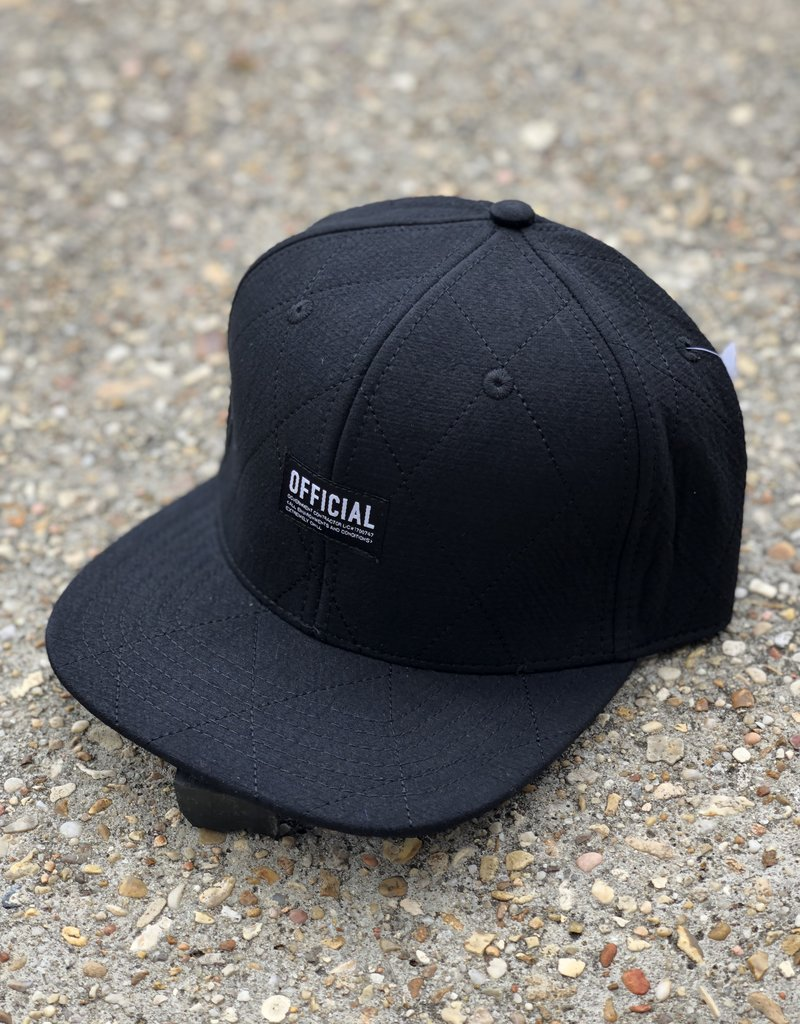 Official Stitch Black Snapback